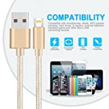 iPhone Charger, 3Pack(1M/2M/3M) Lightning Charging