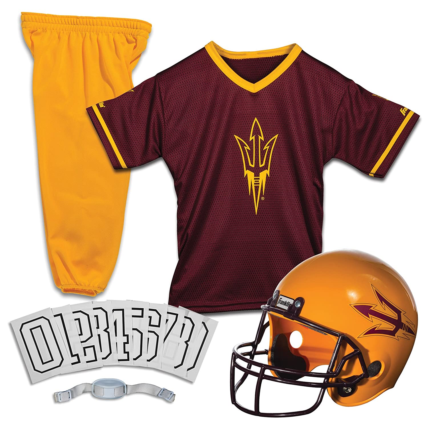 Franklin Sports NCAA Deluxe Youth Team Uniform Set  Amazon.co.uk  Sports    Outdoors cec1c856a