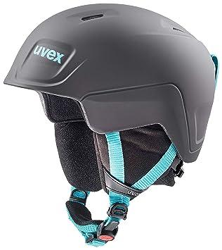 Uvex niños Manic Pro – Casco de esquí, Invierno, Infantil, Color Black-