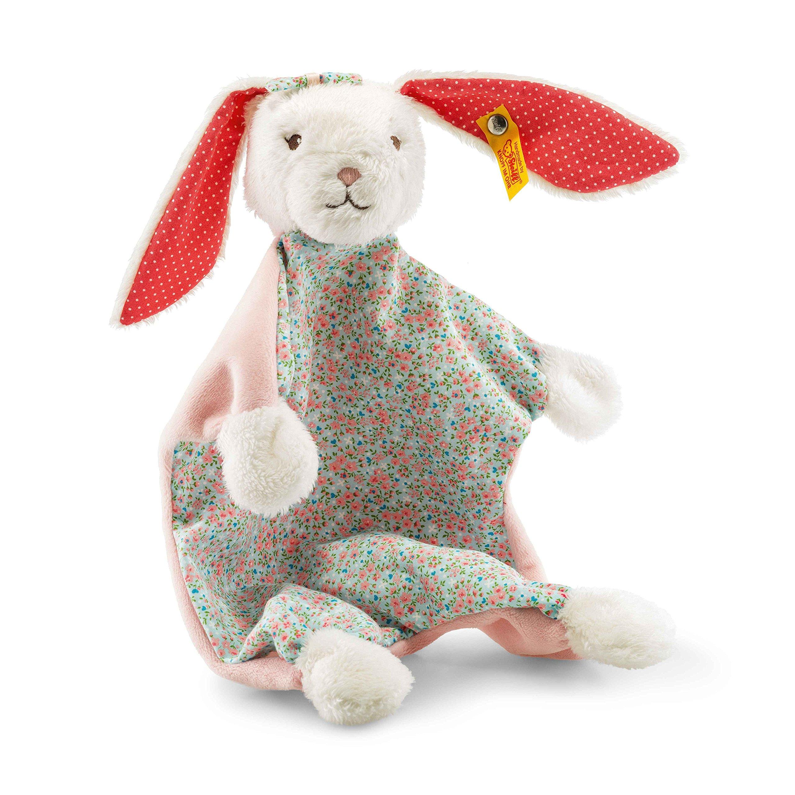 Steiff Blossom Babies Rabbit Comforter, White 241062