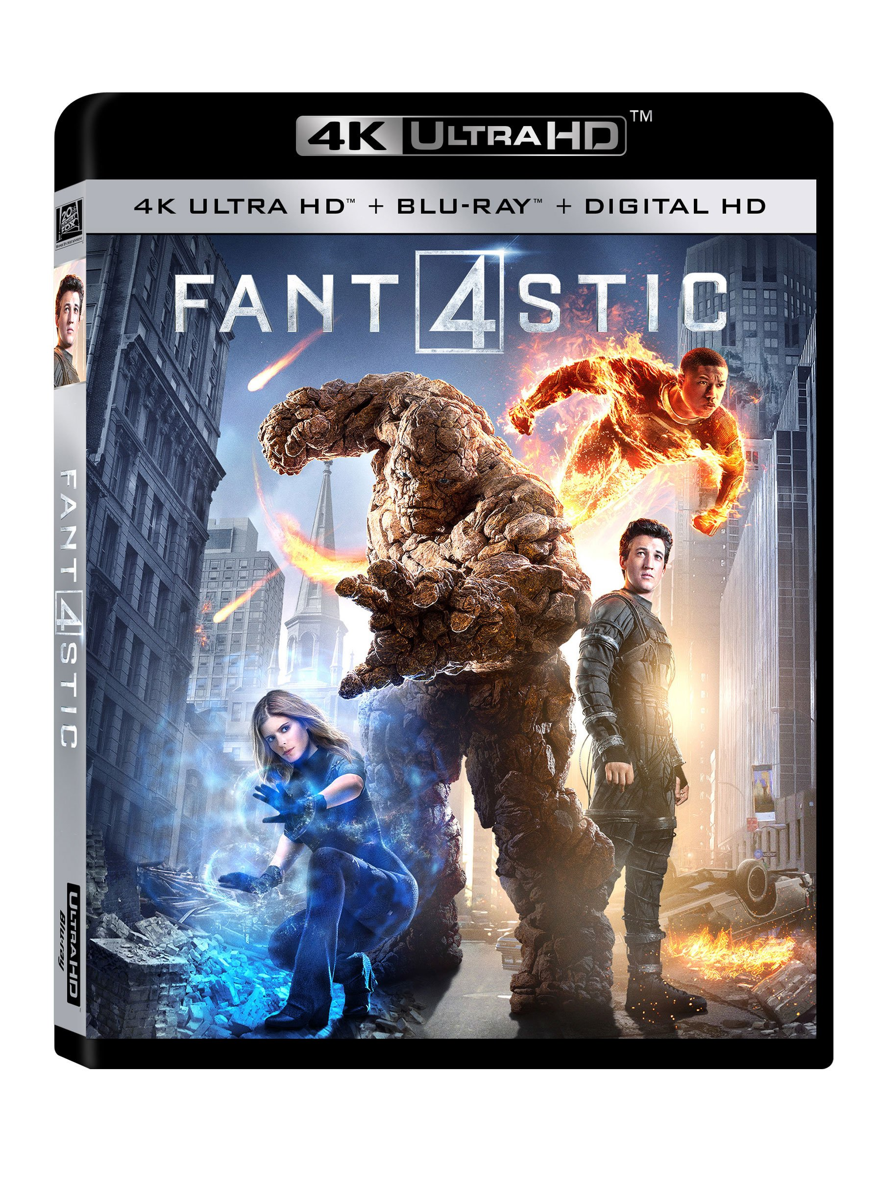 4K Blu-ray : Fantastic Four (Digitally Mastered in HD)