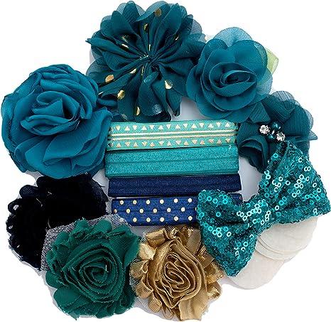 Teal Garden Headband