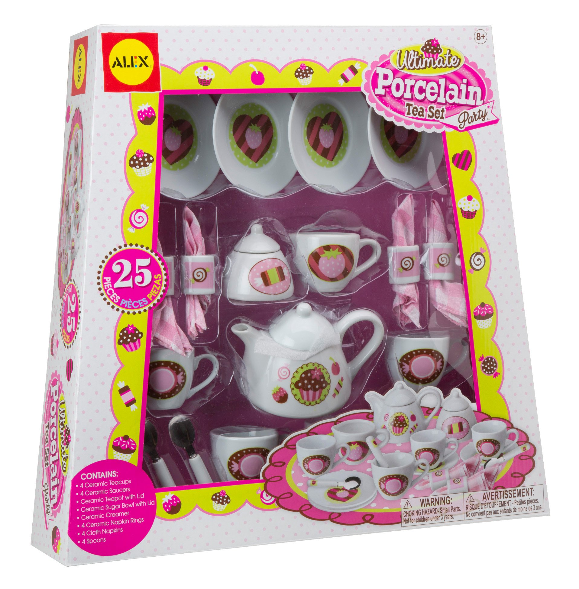 ALEX Toys Ultimate Porcelain Tea Set Party