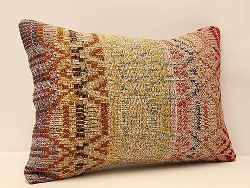 14X20 Handmade Vintage Kilim Pillow Cover