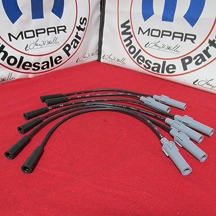 Amazon.com: Dodge Chrysler Spark Plug Wire Set 3.3l 3.8l V6 Mopar OEM: Automotive