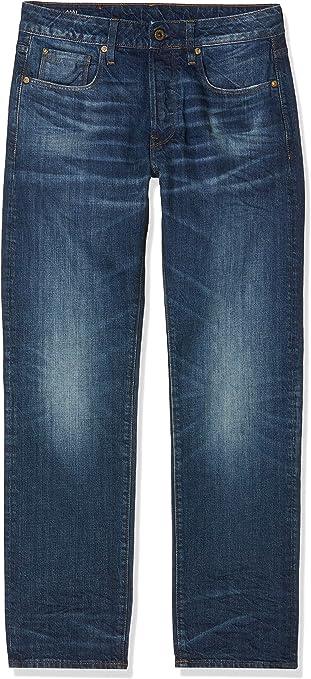 TALLA 34W / 34L. G-STAR RAW 3301 Straight Fit Jeans para Hombre