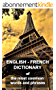 English-French dictionary: of the most common words and phrases (English Edition)