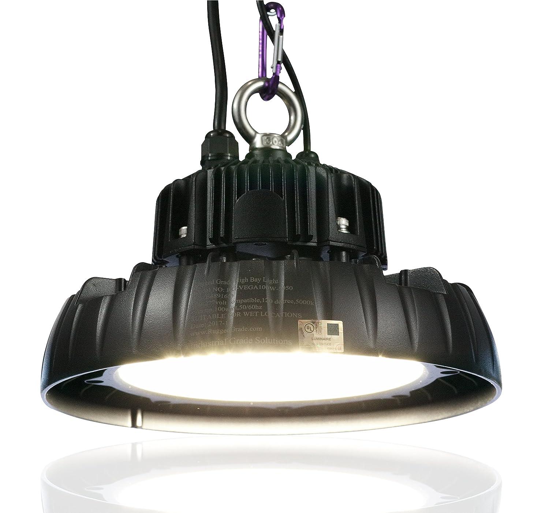 100 watt led high bay ufo lights 16 500 lumens ultra efficient