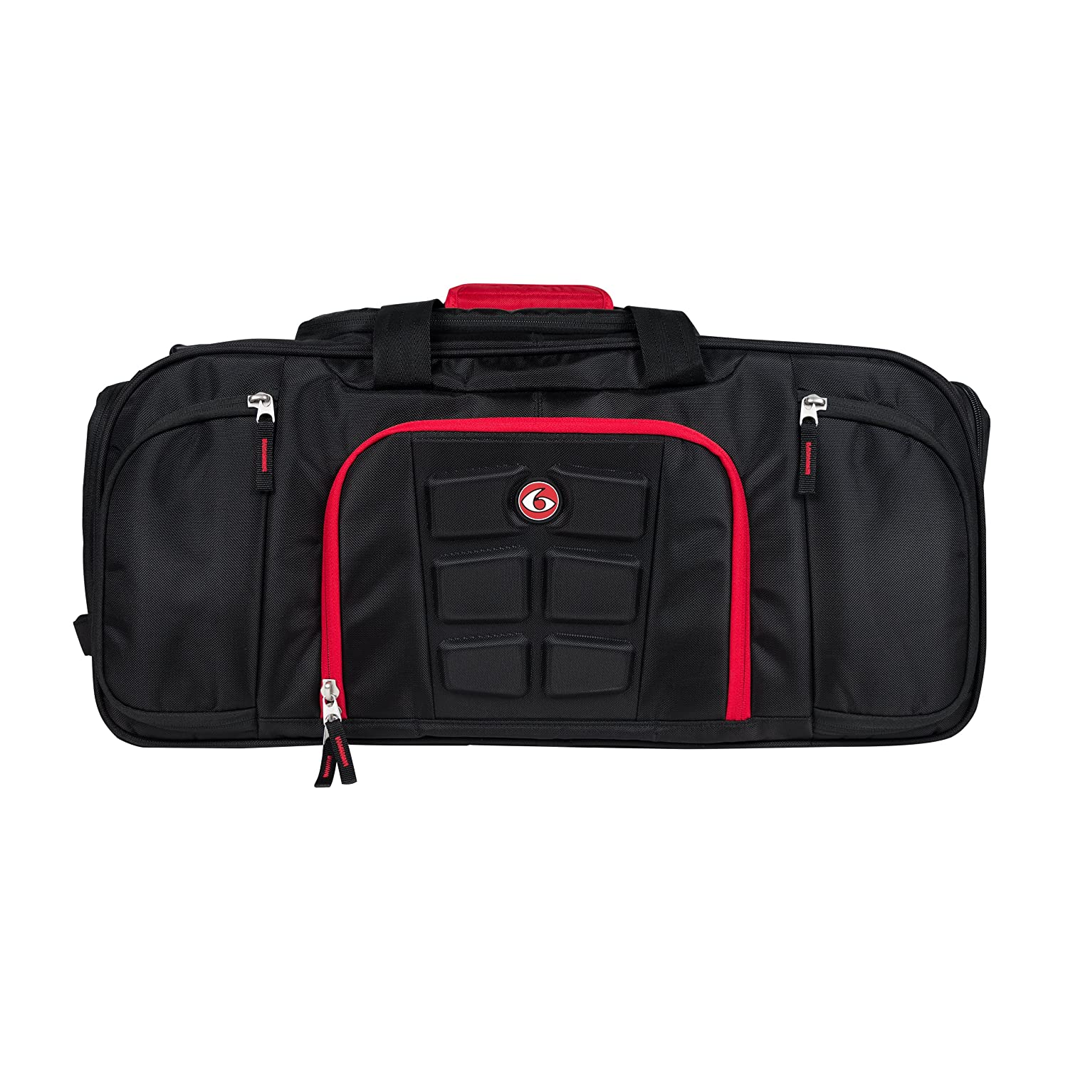 6 Pack Fitness Beast Duffle Bag with Insulated Meal Management System 4d6ae4c761b54