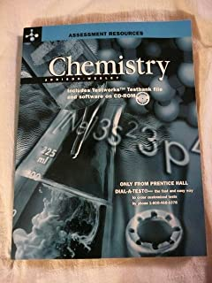 Amazon addison wesley chemistry 5th edition guided study chemistry assessment includes testworks testbank file and software on cd rom fandeluxe Images