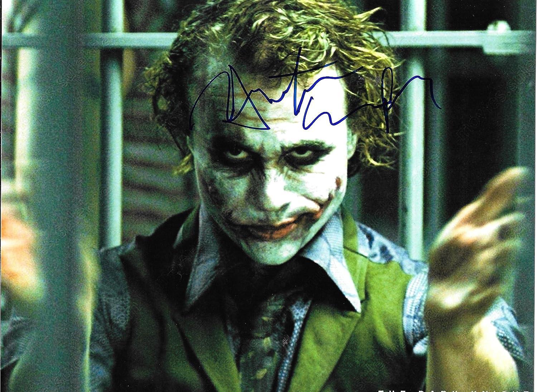 Heath Ledger as the Joker from Batman Signed Autographed 8 X 10 Reprint Photo - Mint Condition