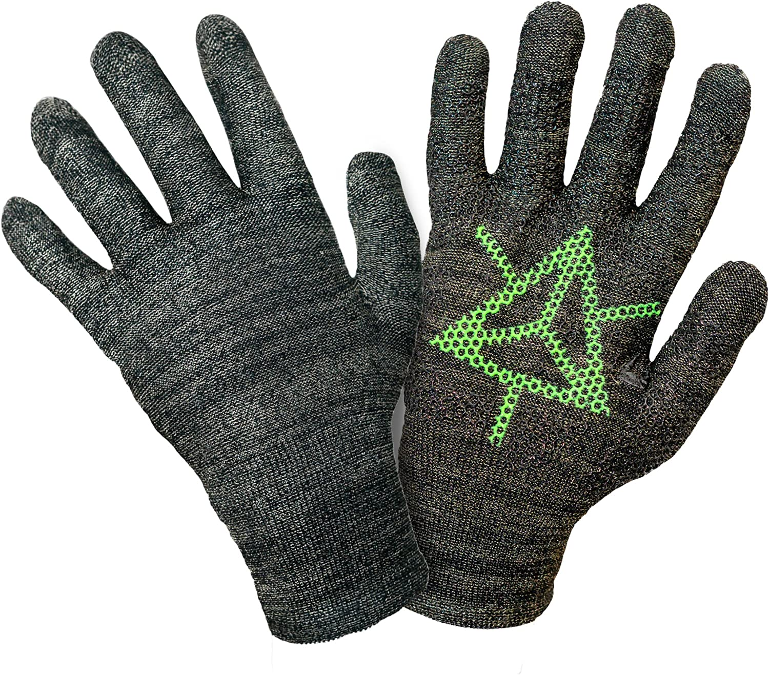 Ingress Edition, Touch Screen Gloves, Faction Enlightened - Entire Surface Works on iPhones, Androids, iPads, Tablets - Anti Slip Palm for Geocaching Phone Grip - Maintain Dexterity - Large: Amazon.es: Deportes y aire libre