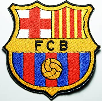 3e6bfe1cc4cc Ecusson brodeFCB Barcelona Espagne Fc Patches English London Soccer  Football Fc Embroidered Iron on Patch style02