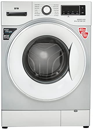 IFB 6.5 kg Fully-Automatic Front Loading Washing Machine (Senorita WXS, Double Tone -Chrome/White)