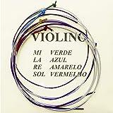 Encordoamento Violino Mauro Calixto Padrão 4/4