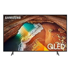 "Samsung QN75Q60RAFXZA Flat 75"" QLED 4K Q60 Series (2019) Ultra HD Smart TV with HDR and Alexa Compatibility"