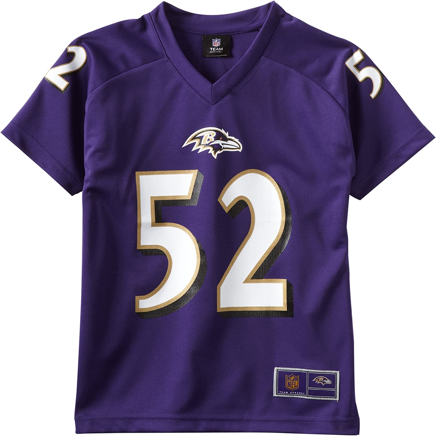 Amazon.com : NFL Baltimore Ravens Ray Lewis 8-20 Youth Player ...