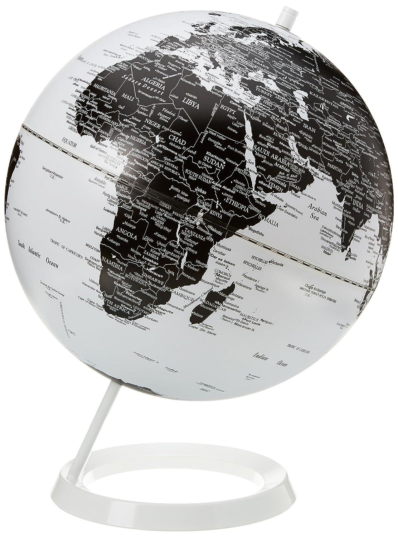 globe terrestre noir et blanc. Black Bedroom Furniture Sets. Home Design Ideas
