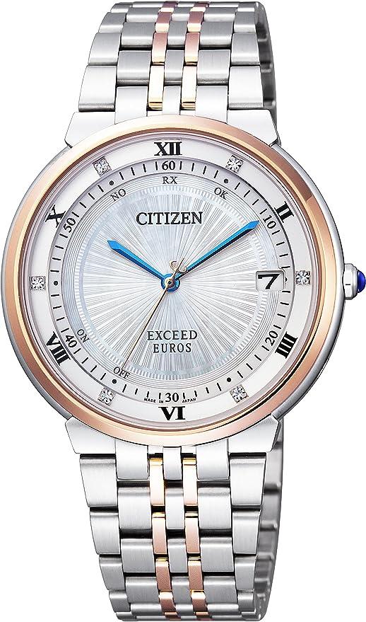 [シチズン] 腕時計 エクシード EUROSシリーズ ペア CB3025-50W マルチカラー