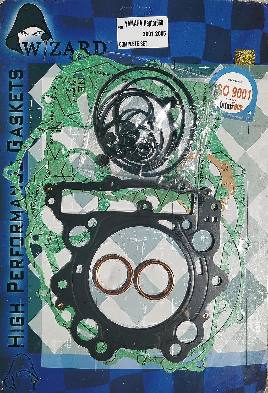 Winderosa 811852 Complete Gasket Kit w// Seals for 2001-05 Yamaha YFM660 Raptor