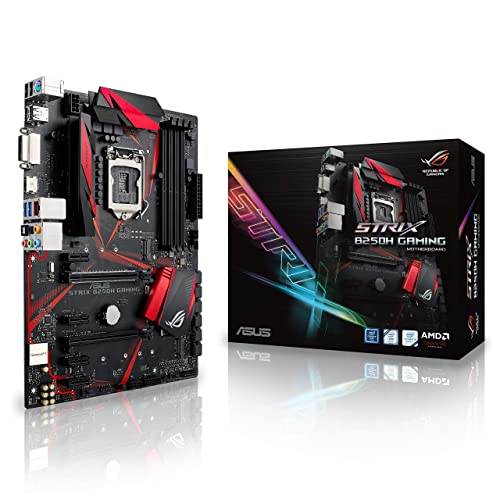 Asus Strix B250H Gaming Carte mère Intel Celeron LGA1151