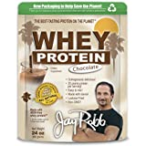 Jay Robb - Grass-Fed Whey Protein Isolate Powder, Outrageously Delicious, Chocolate, 23 Servings (24 oz)