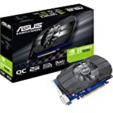 Asus PH-GT1030-O2G GeForce GT 1030 2GB Phoenix Fan OC Edition HDMI DVI Graphics Card