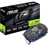 ASUS PH-GT1030-O2G Graphics Card GeForce GT 1030 2GB, HDMI, DVI, Phoenix Fan OC Edition