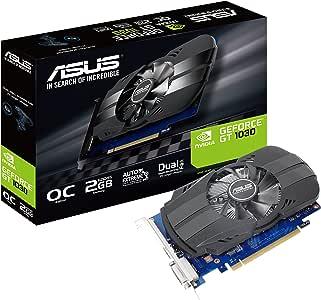 Asus PH-GT1030-O2G GeForce GT 1030 2GB Phoenix Fan OC Edition HDMI DVI Graphics Card