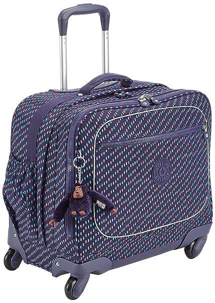 9ea24959f9 Kipling Manary School Bag, 42 cm, 26.5 liters, Multicolour (Blue Dash C):  Amazon.co.uk: Luggage
