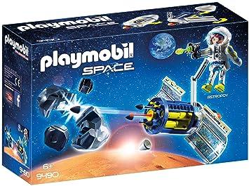Playmobil Con Meteoritos Para Los Satélite Láser Juguetegeobra kOiPXZu