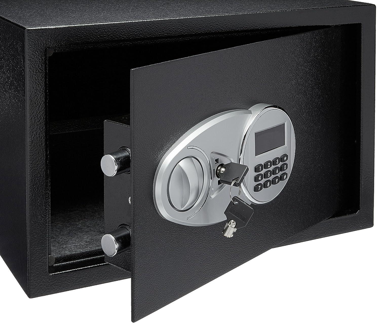 AmazonBasics - Caja fuerte (34 l), color negro: Amazon.es: Bricolaje y herramientas