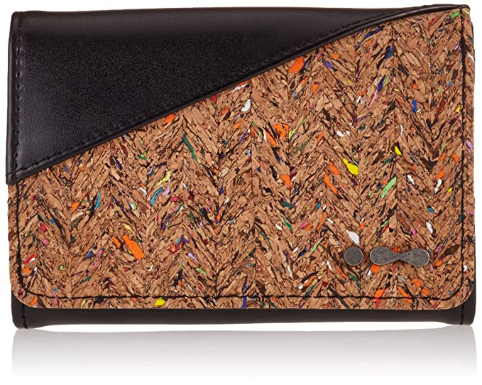 Skunkfunk BADOLA Woman Wallet, Cartera para Mujer, 2X / Black, One_Size: Amazon.es: Ropa y accesorios