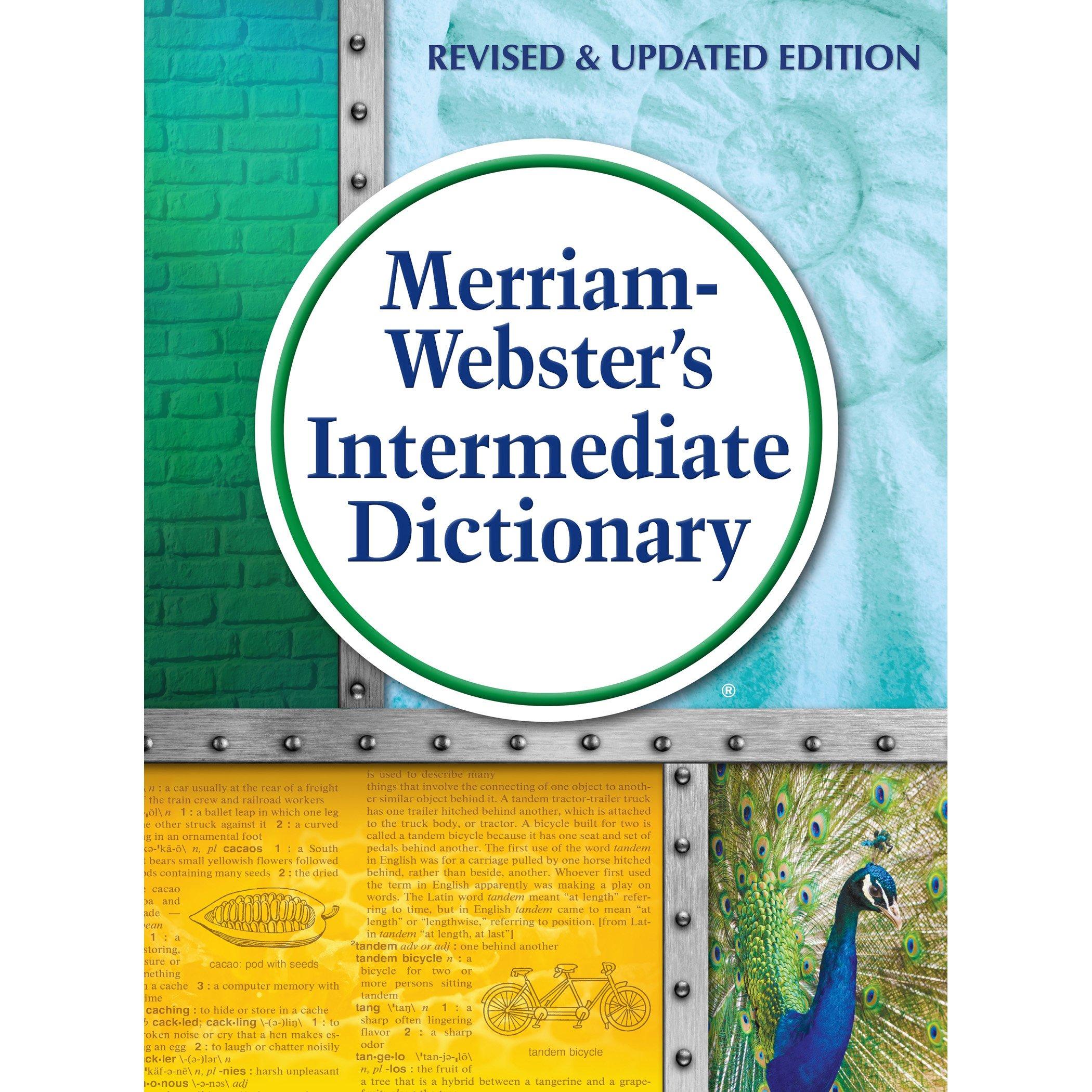 Amazon.com: Merriam-Webster's Intermediate Dictionary, New Edition, 2016  copyright (9780877796978): Merriam-Webster, Inc.: Books