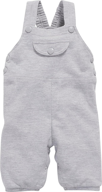 Schnizler Unisex Baby Latzhose aus Sweat meliert, Oeko-Tex Standard 100 800992