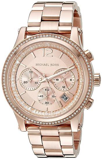 Oro Mujeres Para Michael Mk6064 Color es Reloj RosaAmazon Kors kZuXiP