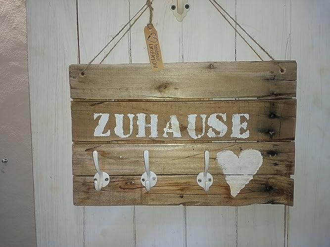 Schlusselbrett Garderobe Zuhause Aus Altem Holz Shabby Palettenholz