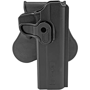 Boomstick Gun Accessories Swivel Paddle Holster 1911 Pistols - Updated to fit More Models - Concealed Carry Outside The Waistband Polymer Holster