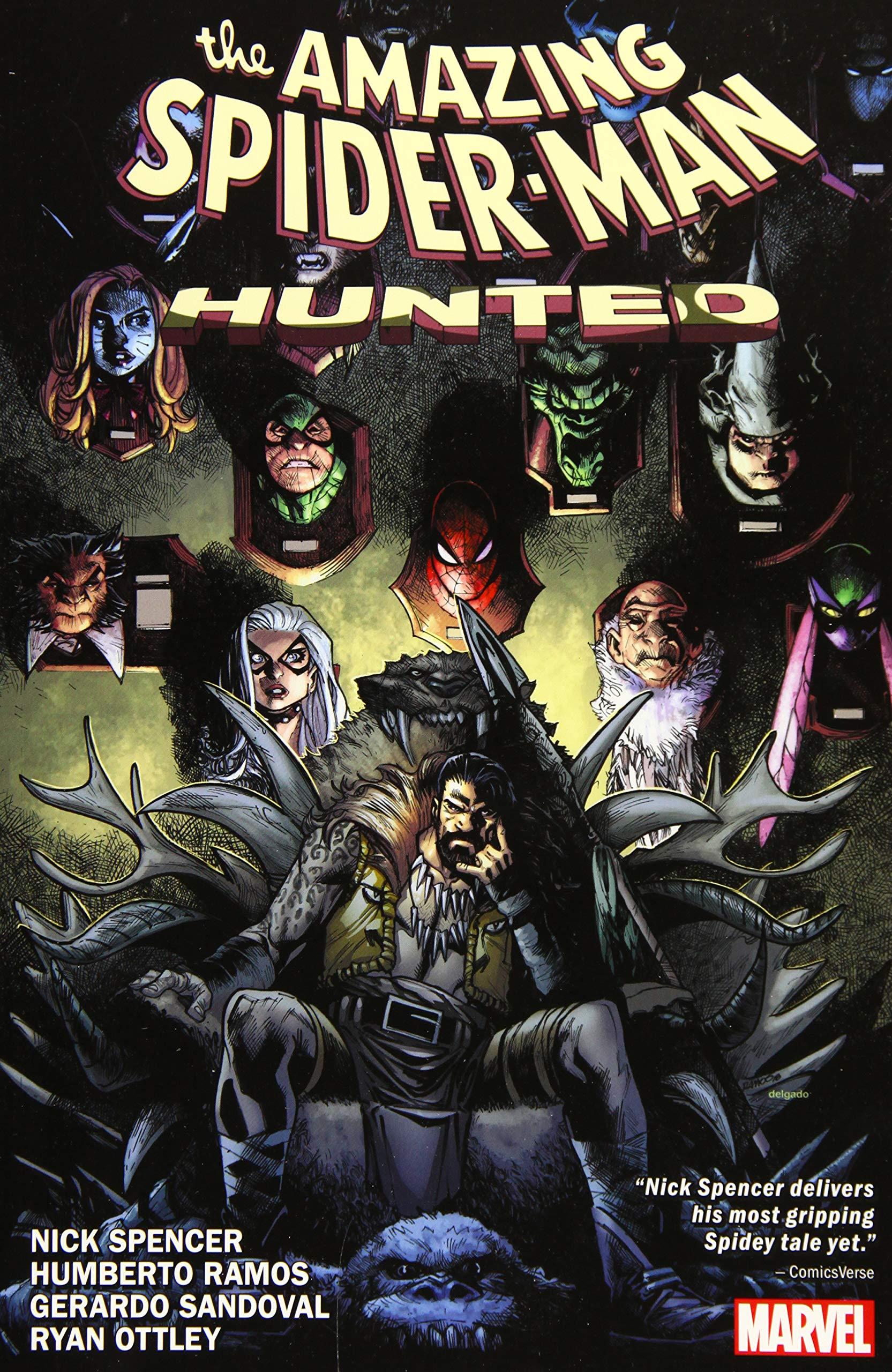 Amazon.com: Amazing Spider-Man: Hunted (Vol. 4) TPB (9781302914349):  Spencer, Nick, Ottley, Ryan: Books