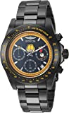 Invicta Men's 'Character Collection' Quartz Stainless Steel Casual Watch, Color:Black (Model: 24891)