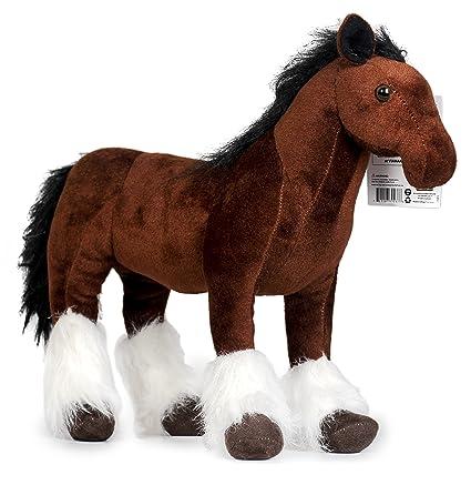 Amazon Com Viahart Charmaine The Shire Horse 18 Inch Large Shire