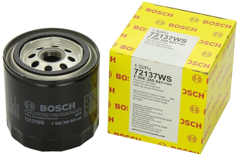 Bosch 72137 WS taller motor filtro de aceite: Amazon.es ...