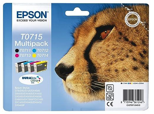 779 opinioni per Epson C13T07154012 Cartuccia d'Inchiostro Originale, Multicolore