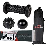 Plantar Fasciitis Foot Recovery System - Includes Foot Massage Roller and 2 Gel-Infused Hot/Cold Therapy Balls - Perfect for Inflammation, Sports, and Trigger Point Therapy on the Feet