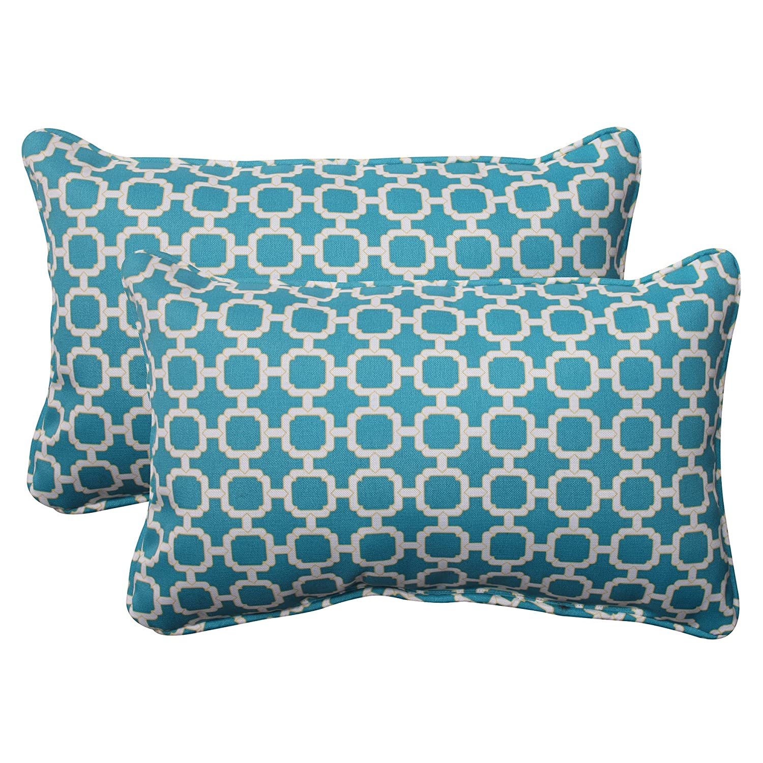 Decorative Pillow Set Amazoncom Pillow Perfect Indoor Outdoor Hockley Corded