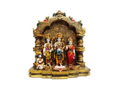 Northland Ram Darbar Figurine - for Home Décor, Office Décor and Gifting (Size: 20 x 12 x 33 in cm)