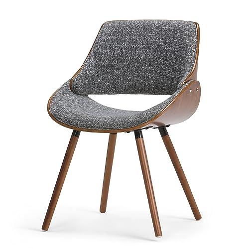 Simpli Home AXCMALW-G Malden Mid Century Modern Bentwood Dining Chair