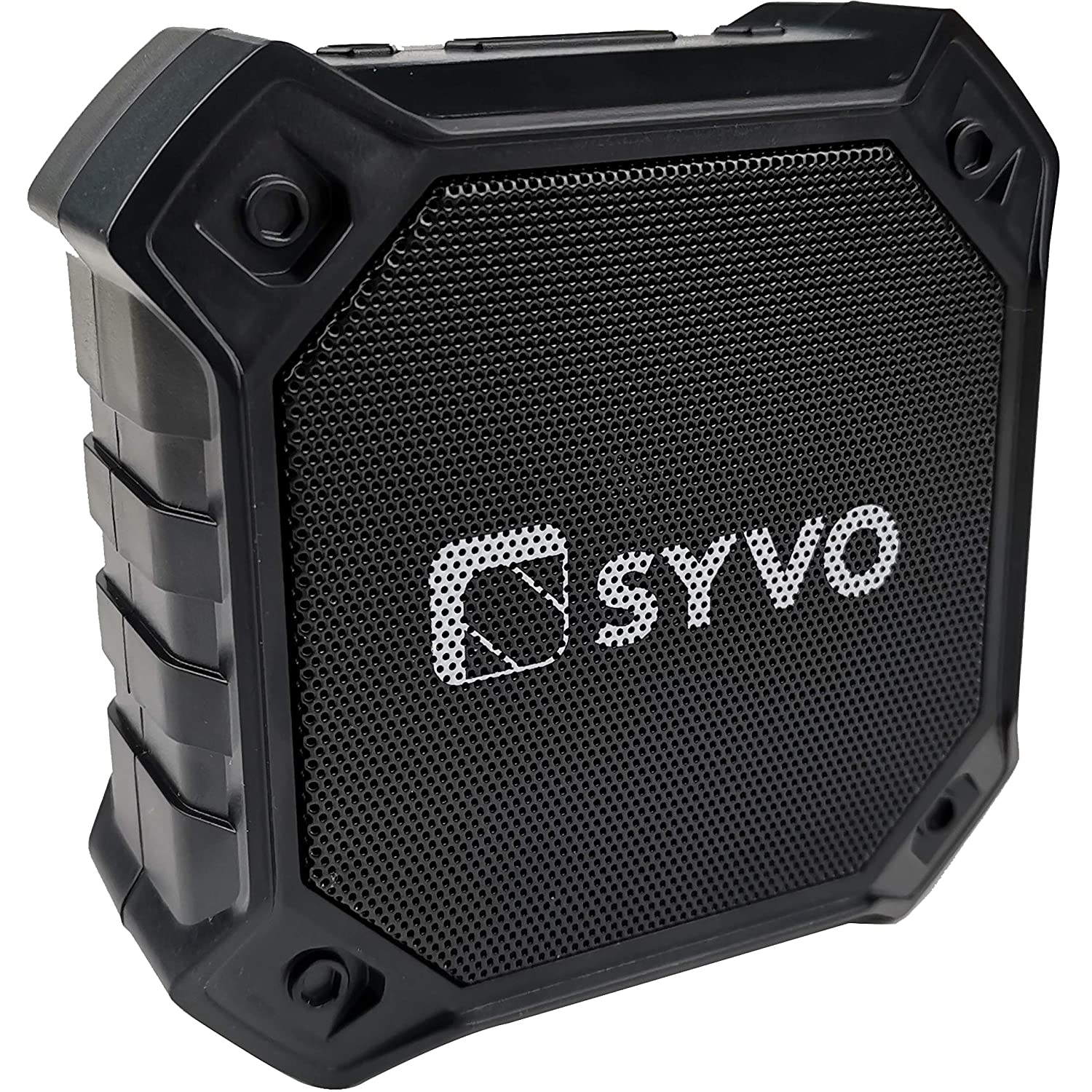 Syvo Sonix Bluetooth 5.0 Wireless IPX4 Super Bass, HD Sound, Aluminium Alloy Portable Bluetooth Speaker with Mic