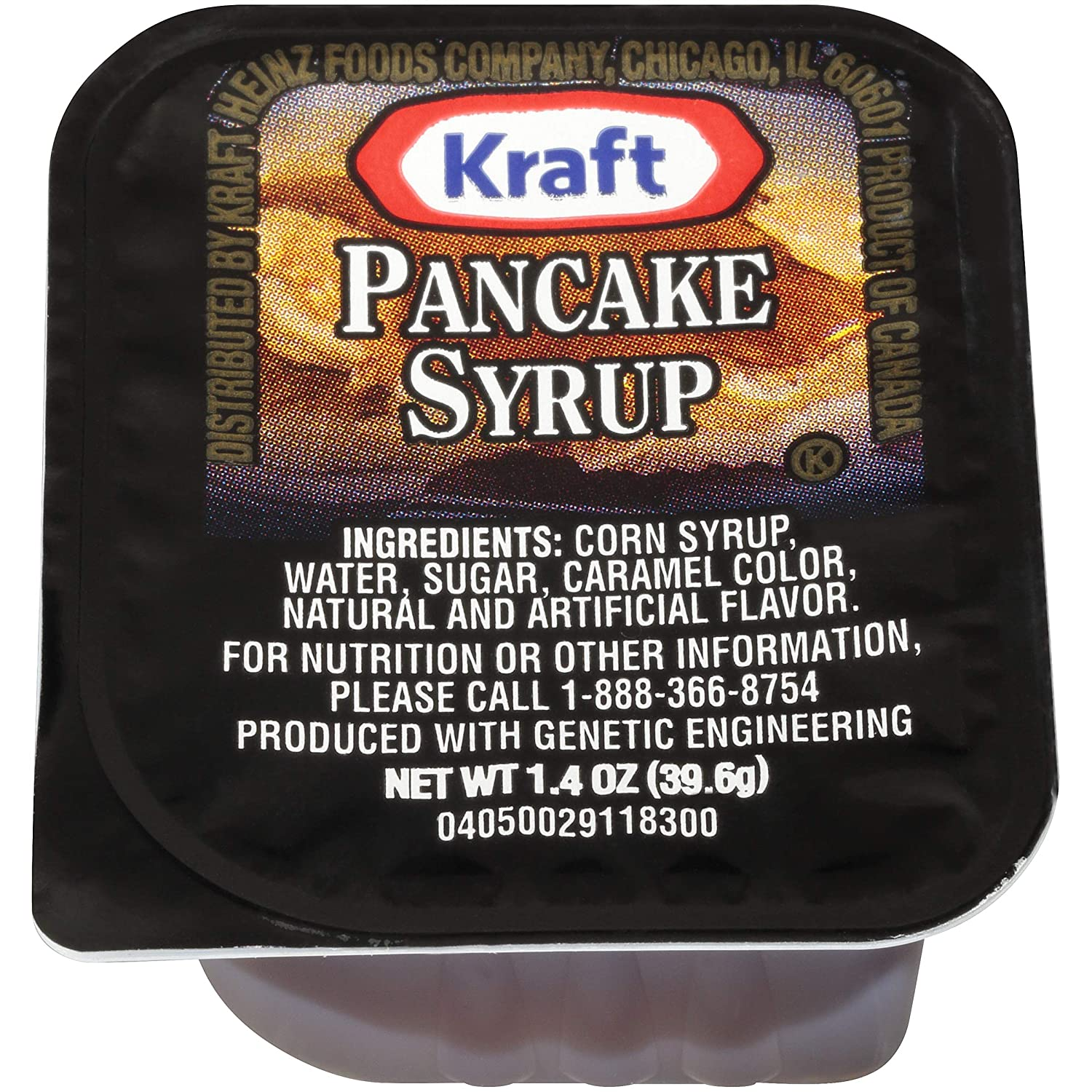 Kraft single Serve Pancake Syrup (1.4oz Packets, Pack of 120)