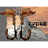 Evoke Gear Tree Climbing Spike Set Pole Climbing Spurs Climber Adjustable